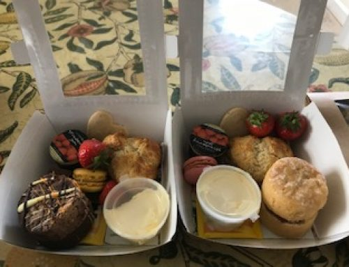 Afternoon tea and cream teas delivered to your door in Somerset