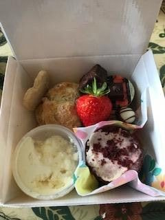Cream Teas Boxed ready for delivery in Somerset